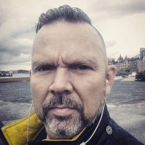 Selfie av Jonas Kullberg (Mr Zbornak)