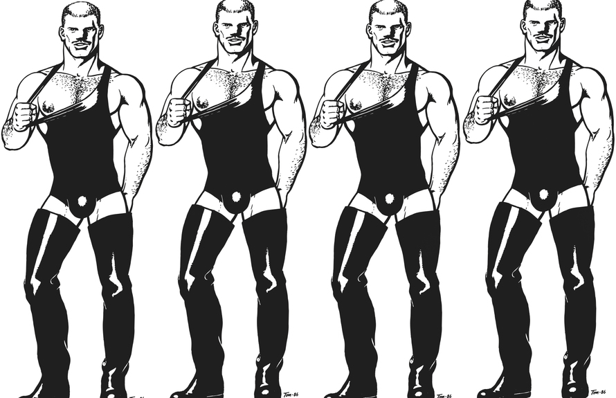 Tom of Finland strikes a pose